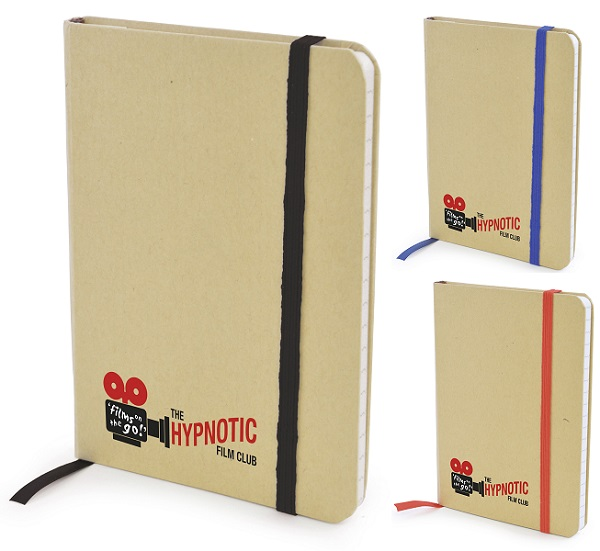 A6 Natural recycled notepad