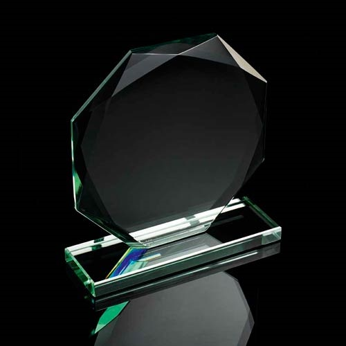 Budget Jade Green Octagan Award