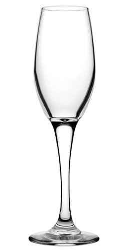 Classic Heavy Base Flute Glass