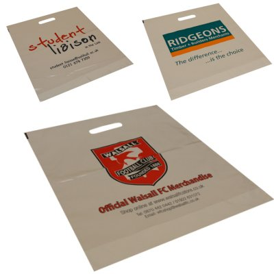 Extra Small Size (10x12 inch) White or Clear Carrier Bag x 1000