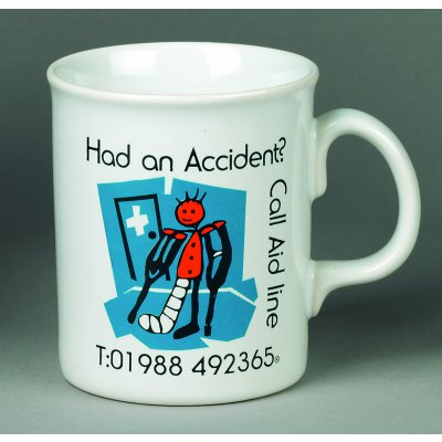 White Atlantic Earthenware Mug - Standard Service