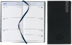 Santiago Pocket Diary - Week To View Portrait - White Paper
