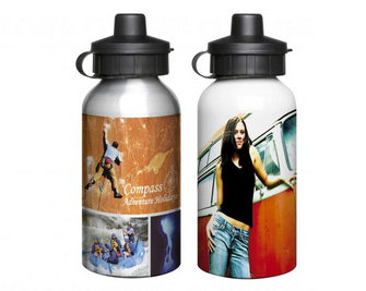 Aluminium Sports Bottle 400ml