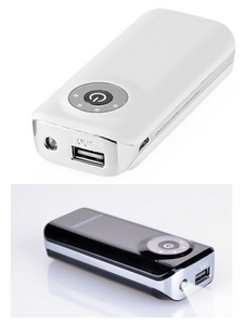 Power Bank 4000mAh - 5200 mAh with torch function