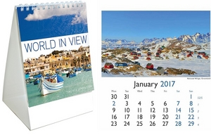 World In View Mini Desk